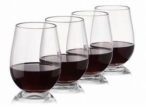 Plastic, Outdoor, Stemless, Wine, Glasses, -, Set, Of, 48, -, Unbreakable, -, Reusable