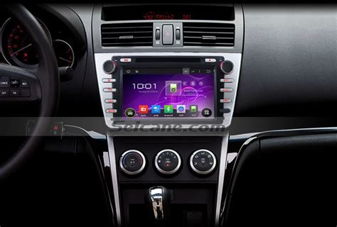 how to install 2008 2012 mazda 6 ruiyi radio with navigation system steering wheel car