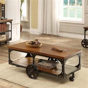 50 unique coffee tables that help you declutter and With coffee table legs with wheels