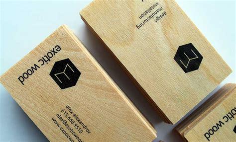 wooden business cards  exotic wood ottawa idapostle