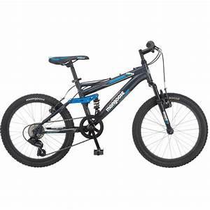 "20"" Mongoose Ledge Kids Mountain Bike 7 Speed Aluminum ..."