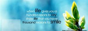 Life Quotes Facebook Cover Page. QuotesGram