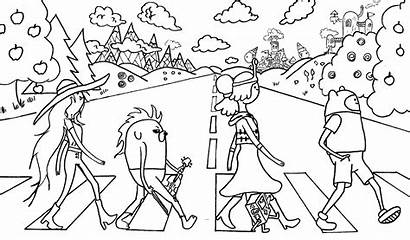 Adventure Coloring Pages
