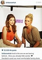 Anna Kendrick Brittany Snow. Their characters in Pitch ...