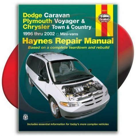 free online auto service manuals 1996 plymouth grand voyager electronic valve timing chrysler town and country repair manual ebay