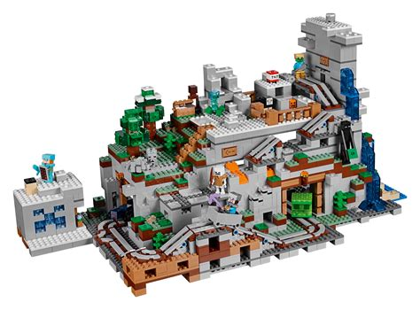 The Mountain Cave Is The Biggest Lego Minecraft Set Yet