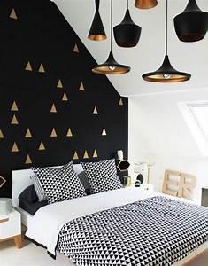 1659 best chambre a coucher images on pinterest With tendance papier peint chambre