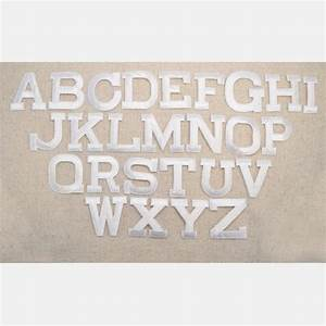 alphabet letter white block style 2 inch iron on With 2 inch block letters