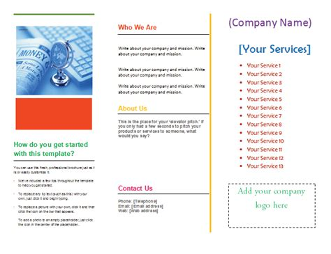 free microsoft word brochure templates tri fold tri fold brochure template microsoft word templates