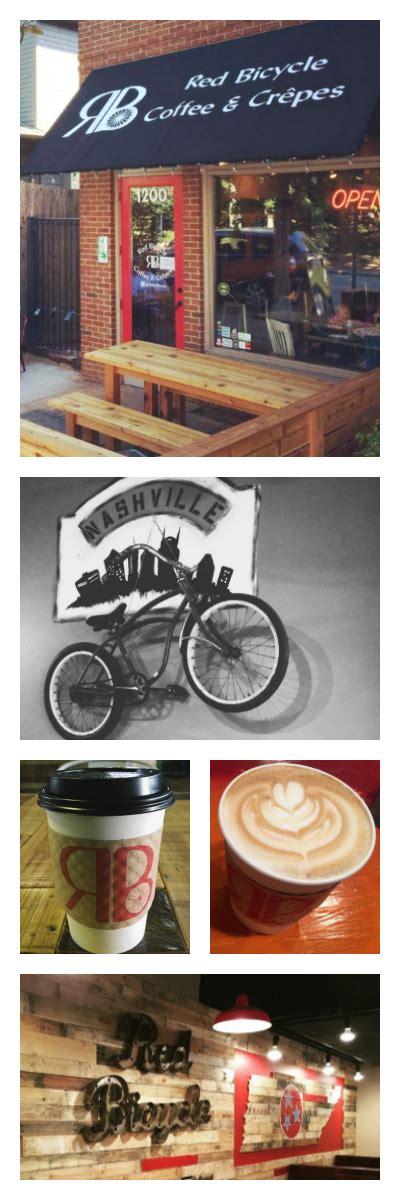 1200 5th ave n, ste 104 nashville tn 37208 woodbine: Red Bicycle Coffee & Crêpes in Nashville's Historic Germantown ♥ #lattelover #friyay # ...