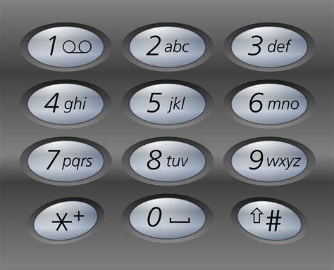 phone number pad telephone keypad