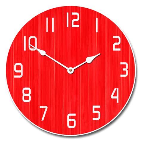 oversized vintage wall retro clock the big clock store