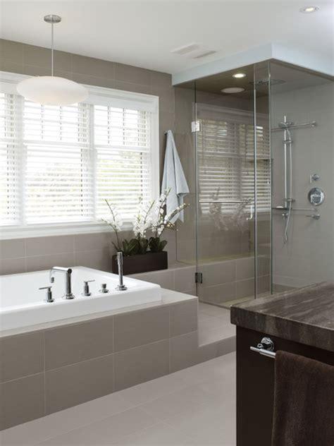 Richmond Hill Project  Master Bathroom Contemporary