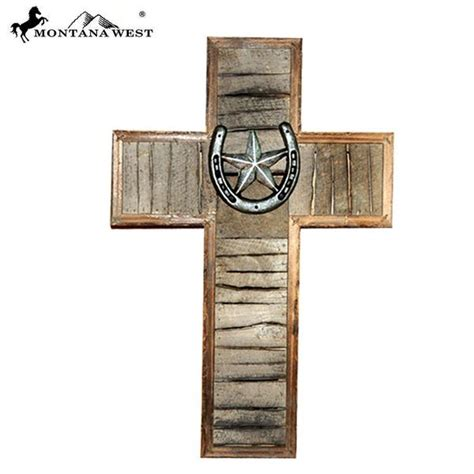Western Decor Wholesale by Rsd 2030 Montana West Horseshoe With Lonestar Wood Wall