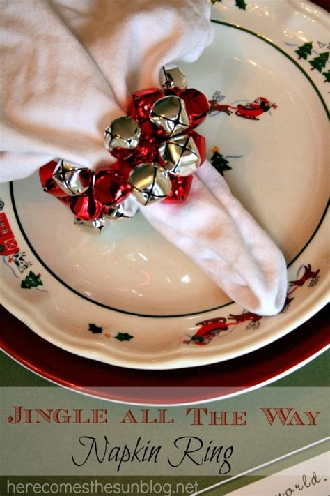 fascinating diy christmas napkin holders  add