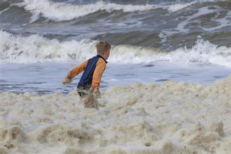 picture child boy summer water beach sea