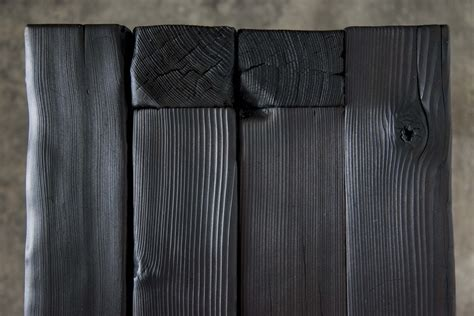 decor  japanese charred wood  yakisugi design