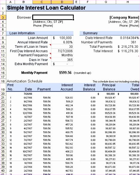 loan repayment schedule excel template excel templates