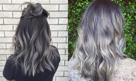 Grey Ombré Hair Is Going To Be Your New Beauty Obsession