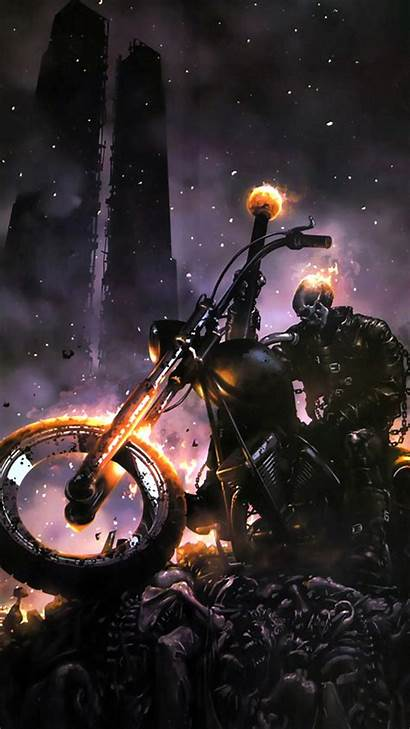 Ghost Rider Wallpapers Android Mobile Bike Samsung
