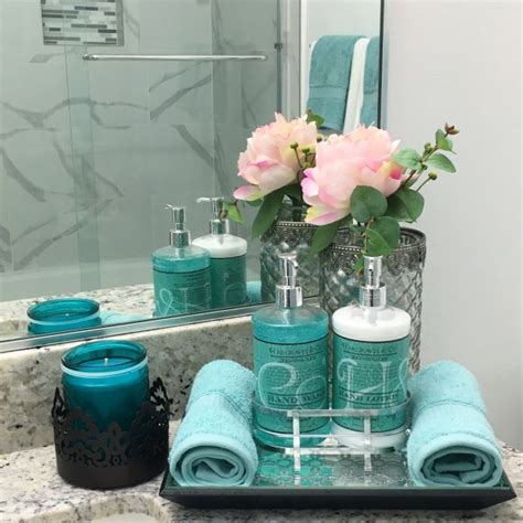 Gray And Teal Bathroom Set by Teal Bathroom Decor Ideas Home Decor Teal
