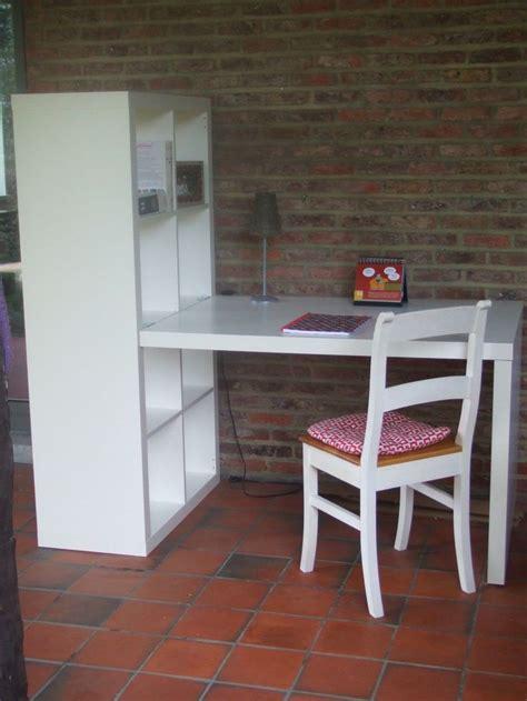 bureau de chambre ikea bureau avec étagère kallax ikea ebay idées coin bureau