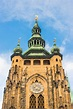 St. Vitus Cathedral Located In Prague, Czech In Prague ...