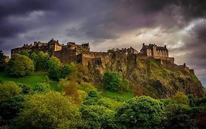 Edinburgh Castle Scotland Wallpapers Backgrounds King