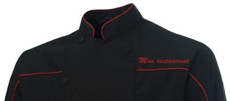 acheter veste de cuisine vêtement de travail personnalisé pour les professionnels