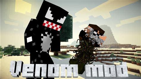 Minecraft Venom Mod Bigger Faster Stronger Venom Vs