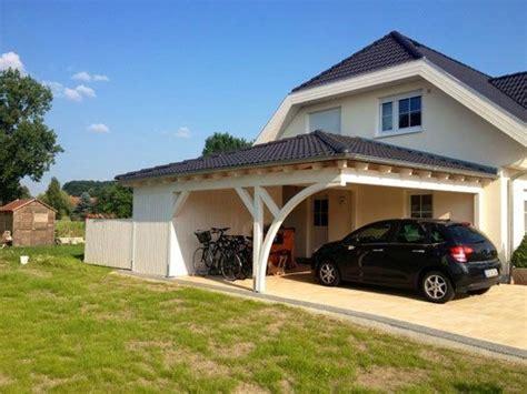Solarterrassen Carportwerk by Walmdach Carport Am Haus Solarterrassen Carportwerk Gmbh