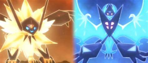 pokemon ultra soleil ultra lune se devoilent avec deux