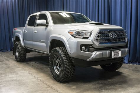 Used Lifted 2016 Toyota Tacoma Trd Sport 4x4 Truck For
