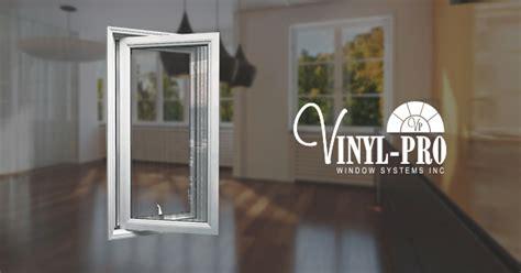casement windows  crank  ventilation vinyl pro