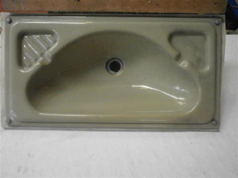 Caravan Motorhome Boat Conversion Green Bathroom Sink Unit