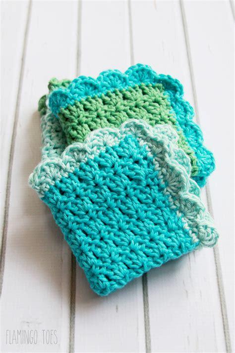 free crochet dishcloth patterns easy crochet pattern that uses single crochet and double crochet long hairstyles