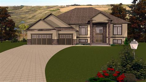 bi level house plans with attached garage modern bi level house plans with attached garage vdomisad