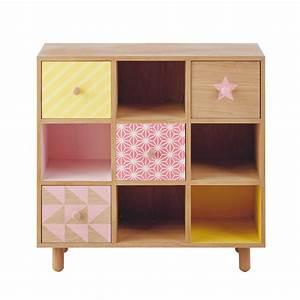 Cabinet Maison Du Monde : cabinet enfant en bois l 78 cm lea maisons du monde ~ Teatrodelosmanantiales.com Idées de Décoration