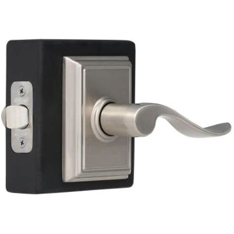 schlage collection accent satin nickel and