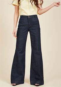Wrangler Denim Wide Leg Whim Jeans In Blue Lyst