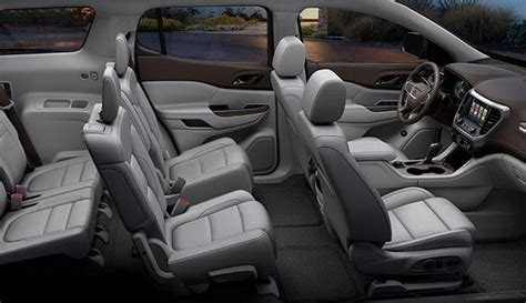 gmc acadia 2020 interior 2020 gmc acadia changes for better feature and technology