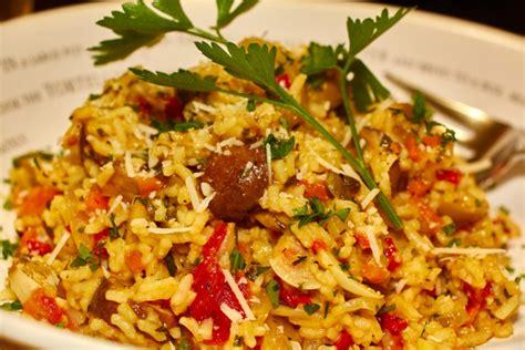 Saffron Scented Mediterranean Rice Recipe