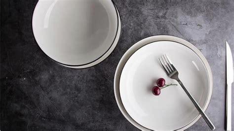 bone dinnerware korean restaurant rim