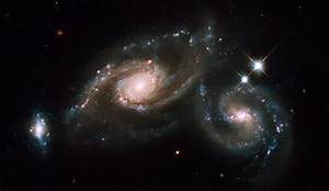 Astronomy and Space: Galaxy Triplet Arp 274