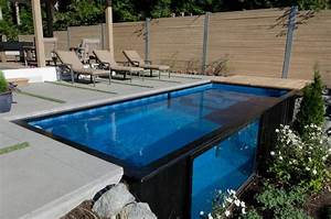 Container Pool Kaufen Preise : modpools repurposes used shipping containers as swimming pools and hot tubs pool pinterest ~ Frokenaadalensverden.com Haus und Dekorationen