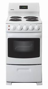 Danby Der2099w 20 U0026quot  Freestanding Electric Range With 4 Coil