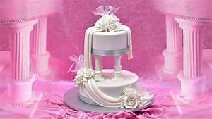 Roman Pillars and Drapes Wedding Cake - Yeners Way