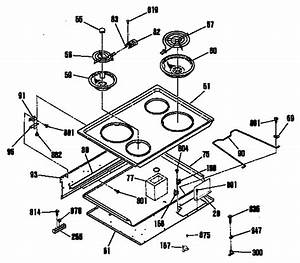 Ge Profile Range Parts Diagram