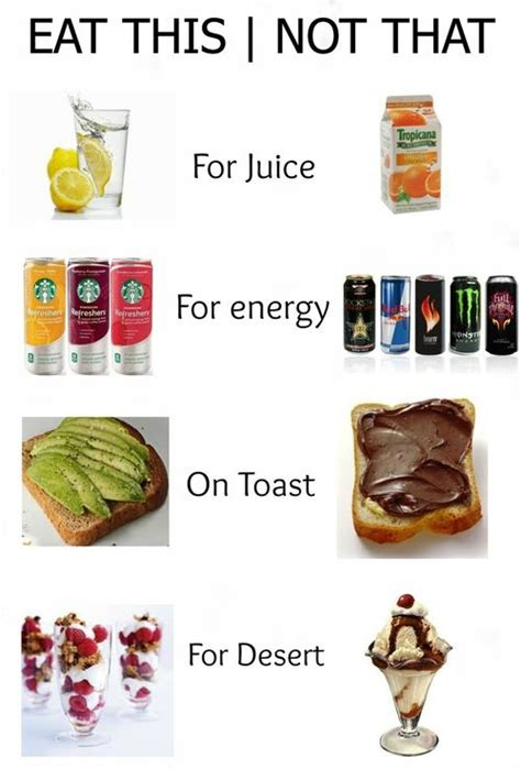 images  food swaps  healthy living