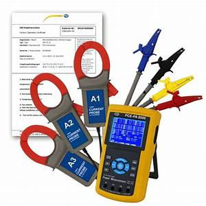Power Analyzer PCE-PA 8000-ICA incl. ISO Calibration ...